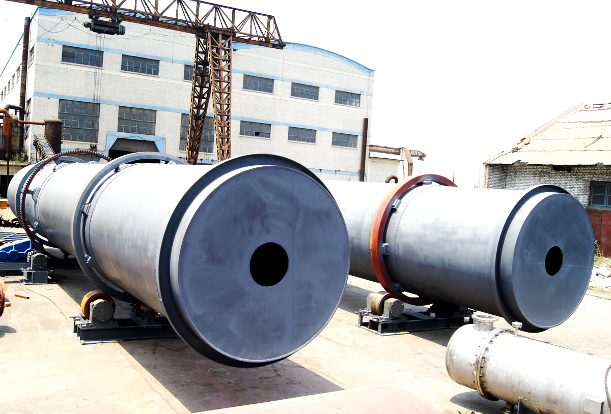 Xingyuan 2021 New Rotary Kiln activated carbon plant start construction.
