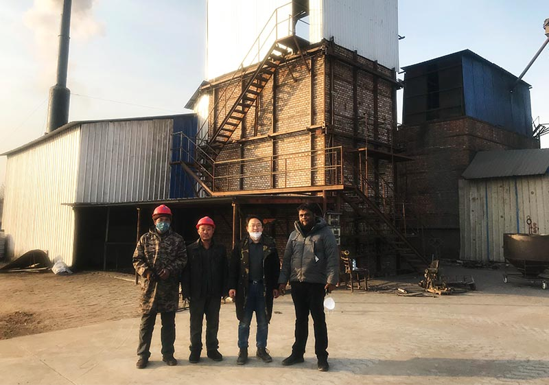 2018 activated carbon vertical kiln