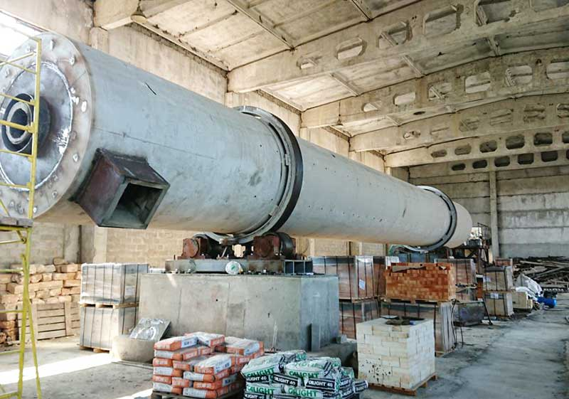 Ukraine Wood Activated Carbon Rotary Kiln