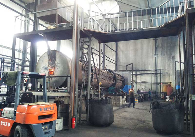 Activated Charcoal Rotary Kiln Project