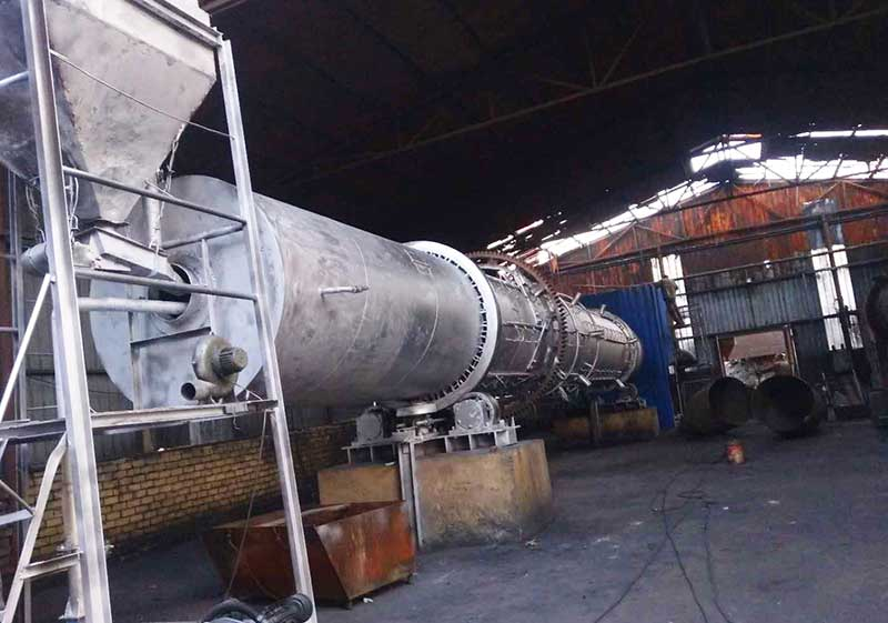 Xinjiang Coal Based Activated Carbon Rotary Kiln