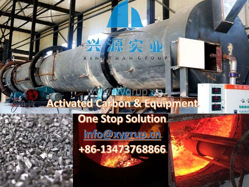 Activated Carbon  Making Machine