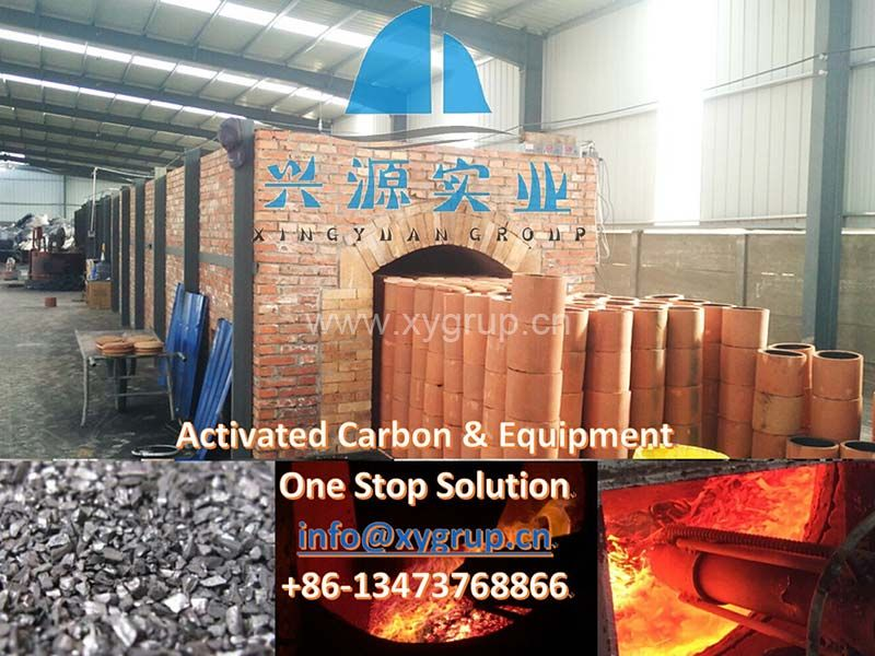 Carbon Reactivation Tunnel Kiln