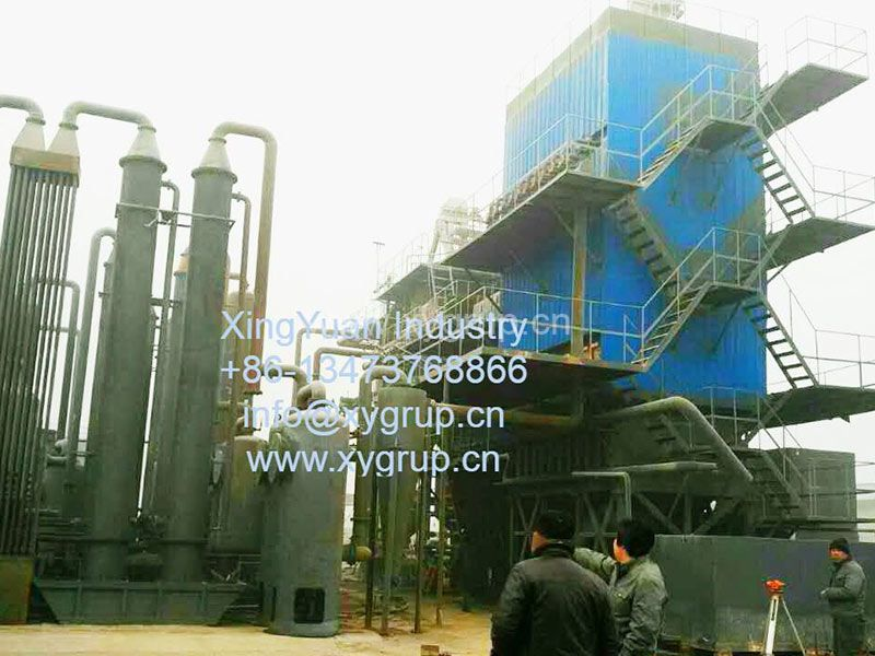 Wood Carbonizing Furnace