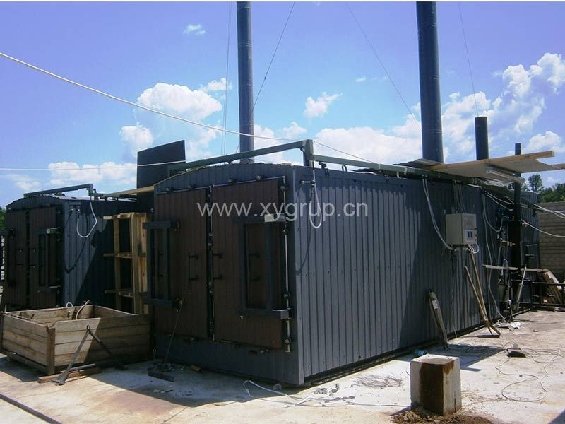 Dry Distillation Wood Charcoal Furnace