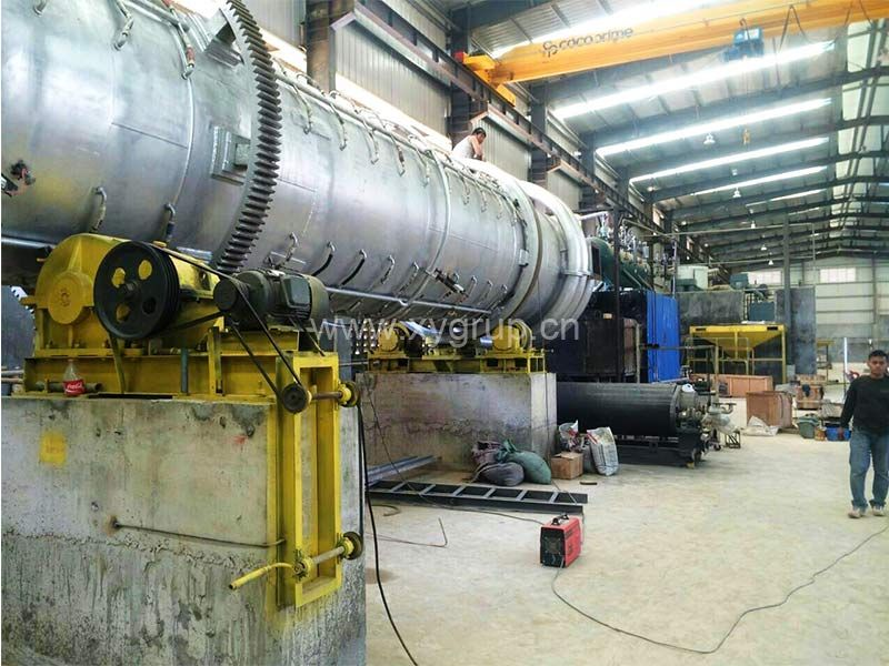 Philippine Activated Carbon Rotary Kiln