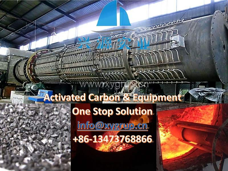 Multi Steam Injection Activated Carbon Kiln