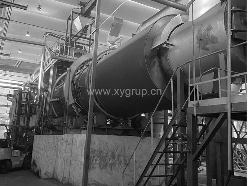 Granular Carbon Regeneration Machine