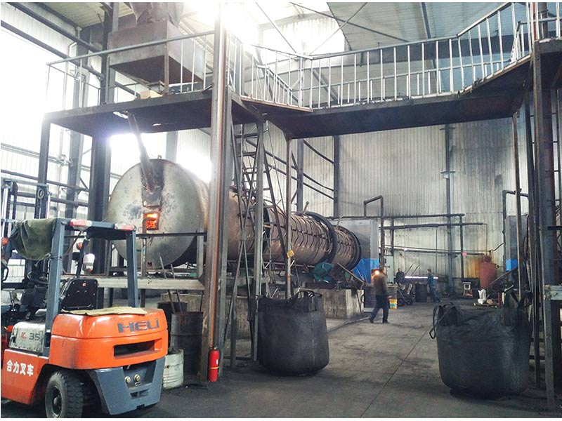 4 Set Activated Carbon Rotary Kiln Production Line In China