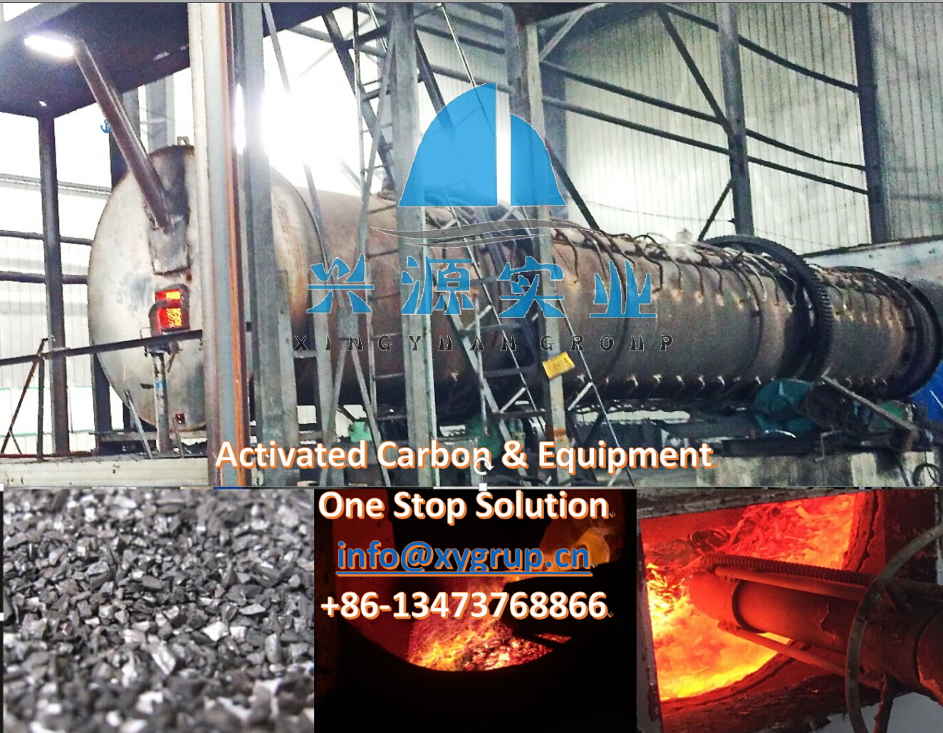 Do you know how to use rotary kiln make activated carbon by steam activation method