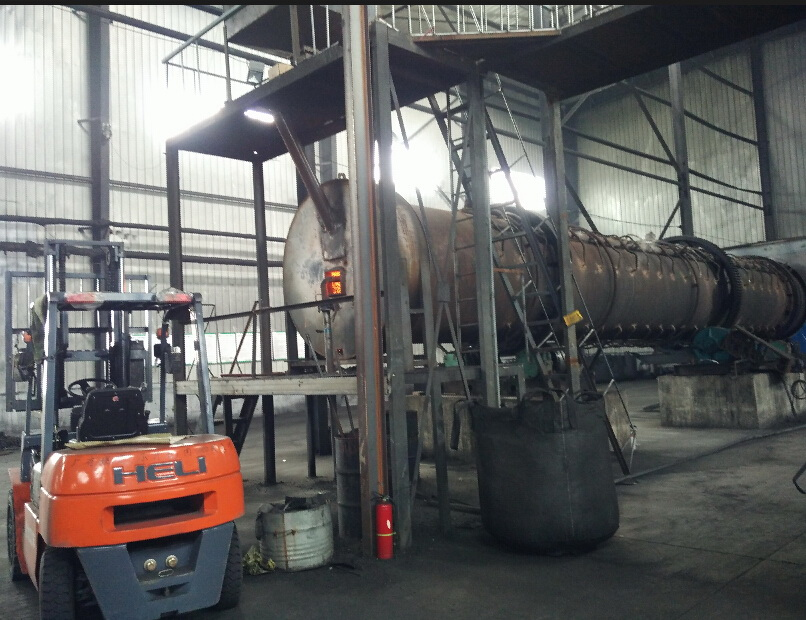What equipment should equipped in an activated carbon factory
